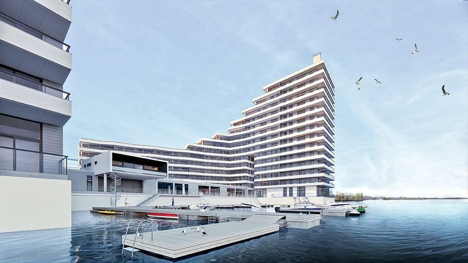 Westpro Portus - merenranta-asunnot Kalasatama Helsinki