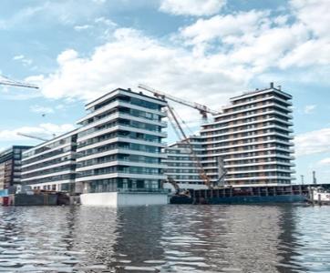 Westpro Portus uudet asunnot Helsingin Kalasatamassa