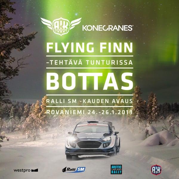 Flying Finn_Tehtävä Tunturissa_Bottas__Instagram