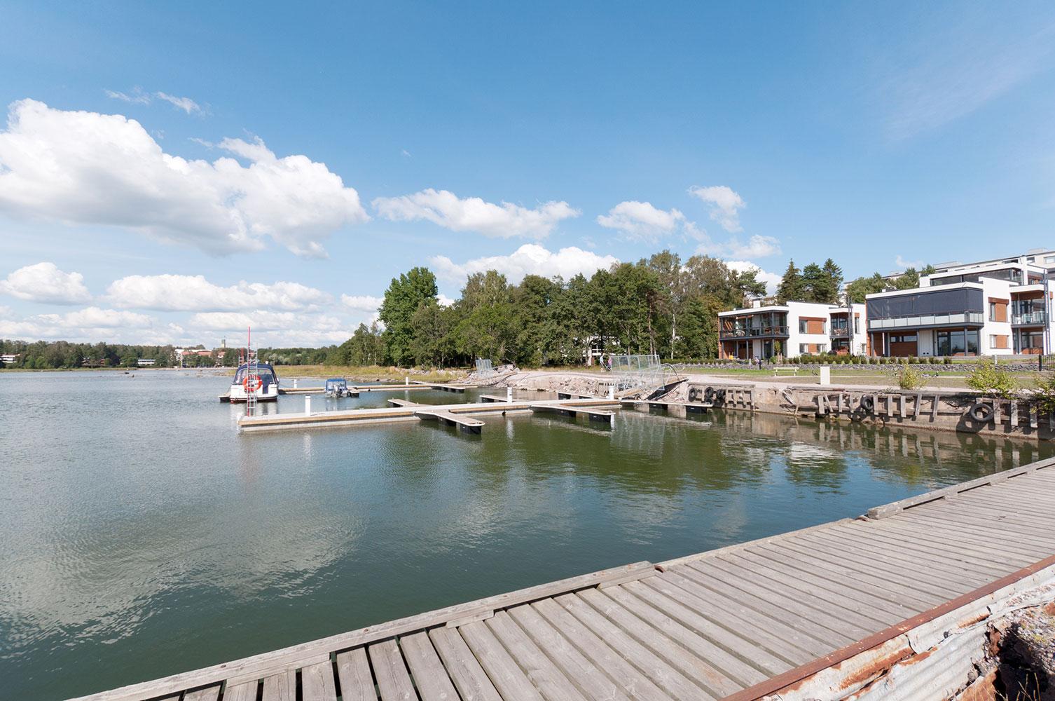 Westpro Veneenveistäjänranta Särkiniementie 18, Lauttasaari Helsinki